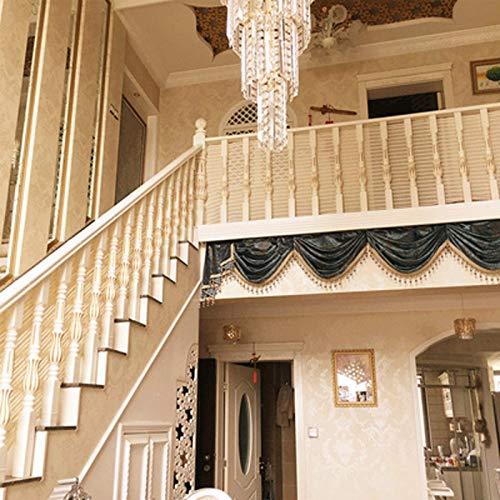 Balcón Extraíbley Red De Seguridad De La Escalera, Red De Seguridad Para Protección Infantil Malla De Seguridad Ajustable Para Balcones De Escaleras O Patios Blan(Color:blanco,Size:3*0.9M(9.8*2.95FT))