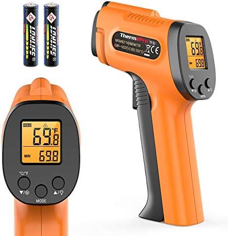 ThermoPro TP30 Digital Infrared Thermometer Gun Non Contact Laser Temperature Gun 58 F 1022 product image