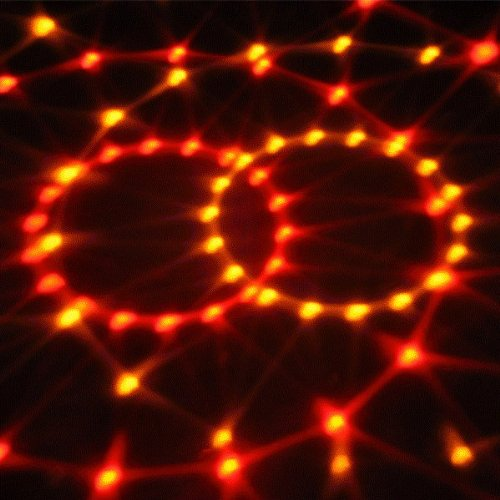 fitTek? 6W Lampada Sfera Effetti Automatico 6 LED Alta Potenza 6 Colori Rotante Disco
