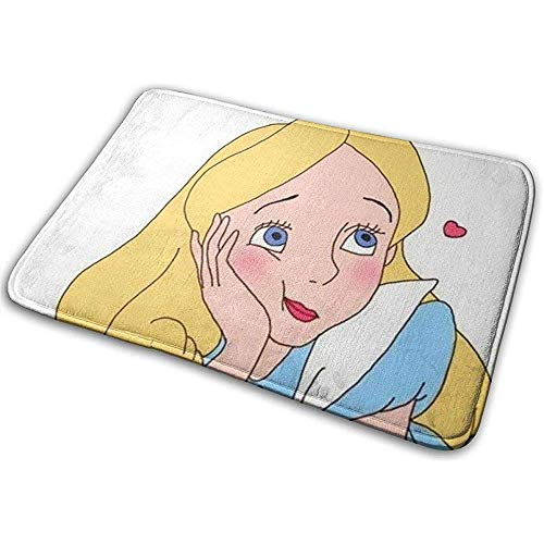 Liumt anti-slip mat voor de deur, prinses van de schoonheid, geschikt voor binnen en buiten, 40 x 60 cm