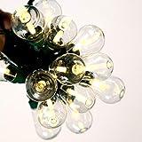 Bethlehem Lighting GKI 25-Light Edison LED, 36 X 8 X 12-Inch, Warm White on Black Wire