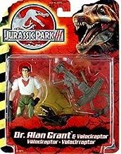 Jurassic Park III Dr. Alan Grant with Velociraptor