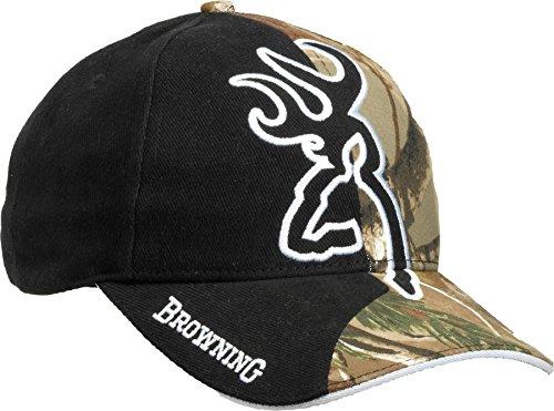 Browning Erwachsene Kappe Kappe Big Buckmark Black Trap EINE GRÖSSE, schwarz, One Size, 308204211