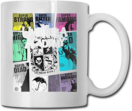 Taza The Umbrella Academy GTA Cups 11OZ Diseño impreso Taza de café divertida Tee Cup