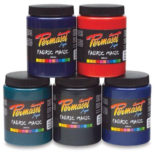 Permaset Aqua–Tinta para serigrafía Textil (300ml, de Tinta/Tinte, marrón Oscuro, 9,2x 7,8x 15,6cm