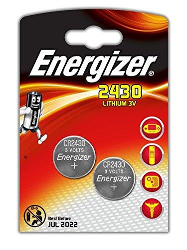Energizer CR2430 Batterien/ Knopfzellen, Lithium, 3V, 3Blisterpackungen à 2Stück