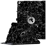 Fintie Rotating Case for iPad Pro 12.9 (2nd Gen) 2017 / iPad Pro 12.9 (1st Gen) 2015-360 Degree Rotating Stand Case with Smart Protective Cover Auto Sleep/Wake, Constellation