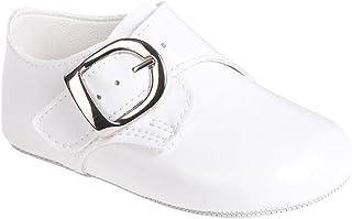 ab41bfcc39c35 MGT-Shop Baptême garçon chaussures bébé chaussures sandales pour femme en cuir  Baptême Mariage B656