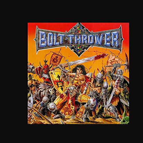 Bolt Thrower War Master Rock álbum de música popular póster lienzo pintura arte póster impresión hogar pared decoración de la sala de estar -60x60 pulgadas sin marco