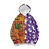 NHNKB Sudadera con capucha para mujer, para Halloween, para...