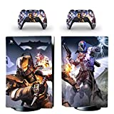 TSWEET Destiny 2 PS5 Standard Disc Edition Skin Sticker Decal Cover for Playstation 5 Console & Controller PS5 Skin Sticker Vinyl