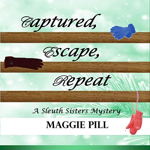 Captured, Escape, Repeat audiobook cover art