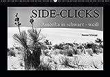 Side-Clicks Amerika in schwarz-weiß (Wandkalender 2019 DIN A2 quer): Schwarz/Weiß Aufnahmen aus Amerika, die neben den bekannten Attraktionen zu ... auf sich ziehen. (Monatskalender, 14 Seiten )