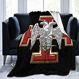 KGHOM Flag 30th Degree Mason Knight Kadosh Masonic 3D Print Starry Pattern Flannel Fleece Large Throw Soft Flannel Blanket Decorative Throw for Couch Sofa Bed 50' X 70'