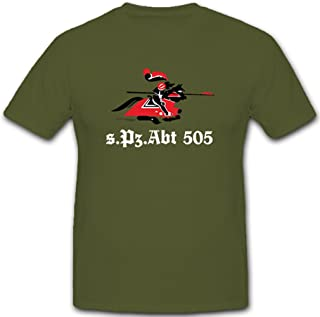 ALFASHIRT SPzAbt 505 Heavy Tank Division Badge Emblem