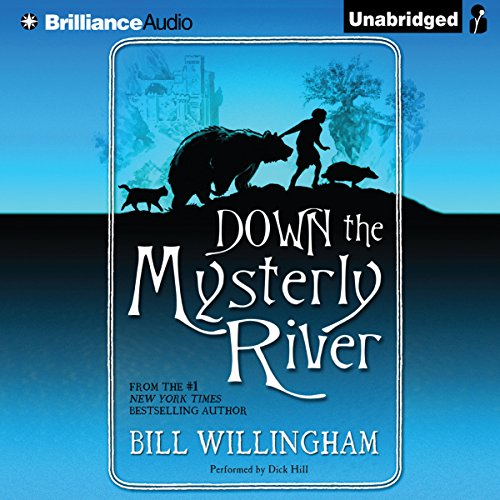 Down the Mysterly River audiobook cover art