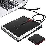 ブルーレイ外付けCD DVDドライブ USB3.0 Type-CスロットインブルーレイDVDドライブ 薄型ポータブル5 in 1 DVDプレーヤー CD/DVD読み込み・書き込み MacBook/ Windows10/ラップトップ適用 SDカード/TFカード対応