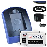 2 Baterìas + Cargador (USB/Coche/Corriente) Compatible con Sony NP-BX1 / HDR-AS50, AS200V / DSC-HX90(V), HX400, RX100 III, WX500 / X1000V. Ver Lista