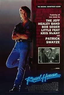 Roadhouse Movie Poster Patrik Swayze 24x36