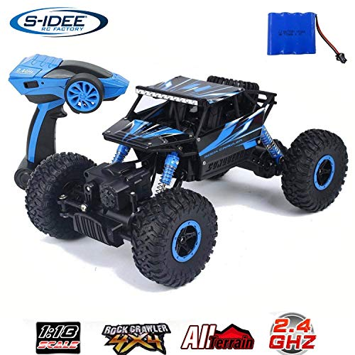 s-idee 18157 Rock Crawler HB-P1802 con 2,4 GHz 4WD Buggy Monstertruck