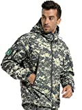 ANTARCTICA Men's Outdoor Waterproof Soft Shell Hooded Military Tactical Jacket