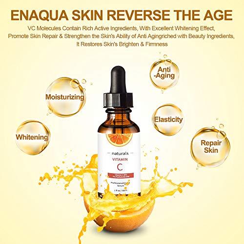 51fIgJxW07L - Vitamin C Serum for Face with Hyaluronic Acid, Vitamin E & Niacinamide (B3) Face Serum for Anti Wrinkle, Anti Aging, Hydrate & Dark Spot Vitamin C Oil Facial Serum