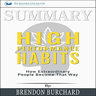 Summary: High Performance Habits: How Extraordinary People Become That Way audiobook cover art