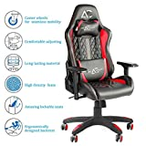 Savya Home® by Apex Crusader XI Gaming Office Chair (Red and Black)