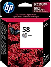 HP 58 Compatible Photo Inkjet Print Cartridge (C6658an) No.58 Product Compatibility: HP Deskjet 450c, Deskjet 5550, Deskjet 5551, Photosmart 7150, Photosmart 7350, Photosmart 7550, PSC 1310, PSC 2110, PSC 2105, PSC 2115, and PSC 2210 All-in-one Series.