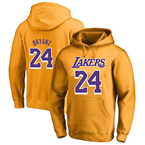 Sudadera Capucha De Baloncesto Hombre NBA Lakers 24#