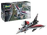 Revell- Eurofighter Typhoon Baron Spirit Kit Modello, Color Plateado (03848)