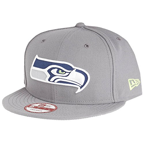 New Era 9Fifty Snapback Cap - Seattle Seahawks Storm Gris