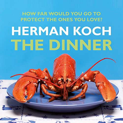 The Dinner audiobook cover art