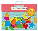 100 gommettes formes et couleurs (coll. ma pochette de gommettes)