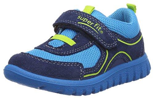 Superfit Baby Jungen SPORT7 Mini Lauflernschuhe, Blau (bluet Multi), 25 EU