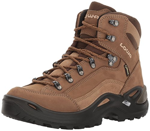 Lowa Women's Renegade GTX Mid WS S - N Hiking Boot,Taupe/Sepia,8 N US