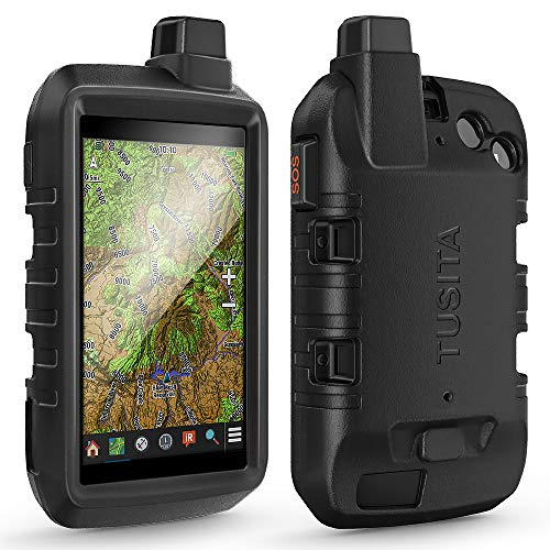TUSITA Funda Compatible con Garmin Montana 700i 750i - Protectora de Silicona Skin - Accesorios de Navegador GPS de Mano