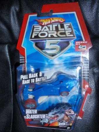 Battle Force 5 Water Slaughter 1 43 Scale Pull Back and Race to Battle SEVER Driver