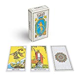 ORIGINAL 78 TAROT DECK —Designed in 1910 by Pamela Colman Smith under the direction of Arthur Edward Waite. BACK TO THE ORIGINAL —More respect and restoration, closer to the pure soul and know yourself without any distractions. SMOOTH FINISH CARDS —M...