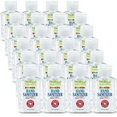 24 PACK OF 2 OUNCE BOTTLES - Get Twenty-Four 2oz Bottles of Hand Sanitizing Gel that Kills 99.99% of All Germs and Bacteria. Quick Drying Gel. Like all hand sanitizer gel it still has a minor runny and watery consistency, but primarily is held togeth...