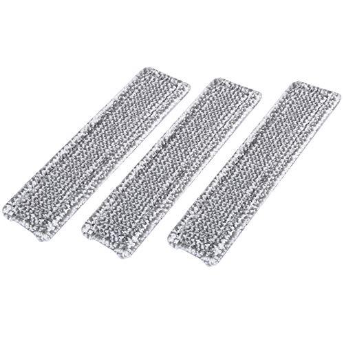 DEYF 3 Mikrofaser-Moppbezug für Kärcher WV-Sprühflaschen mit Klettverschluss WV 5 Premium WV 2 Premium (Plus), WV 5 Premium (Plus) 2.633-130.0