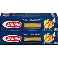 Great for a quick week day dinner! Thinner version of traditional spaghetti highlights delicate, nutty flavor Cooks in 6 minutes Delicious with lighter sauces, soups and seafood-based sauces Product of USA, Kosher certified