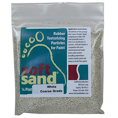 SoftSand Rubber Particles SR-101 Non-Skid Coatings – 4 oz.