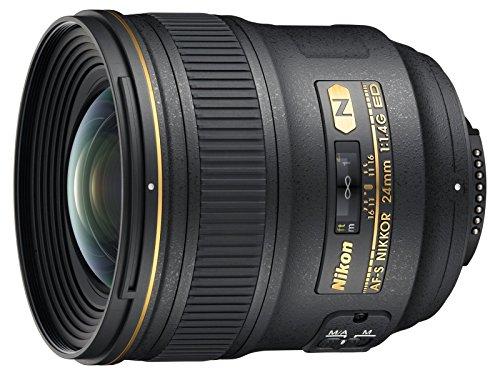 Nikon AF-S FX NIKKOR 24mm f/1.4G ED Wide-Angle Prime Lens for Nikon DSLR Cameras (Renewed)