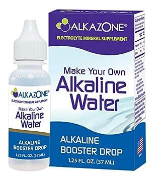 Alkazone Make Your Own Alkaline Water Clear 1.25 Fl Oz