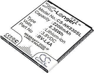 CS Replaceable Battery for Microsoft Mobile, Smartphone Lumia 540, Lumia 540 Dual SIM, Lumia 830, RM-983, RM-984, RM-985
