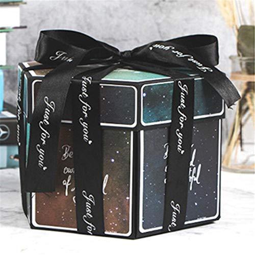 Caja De Dulces Caja De Regalo Boda Día De San Valentín Sorpresa Amor Explosión Caja Regalo Novio Proponer Accesorios Álbum De Fotos Álbum De Recortes Aniversario Regalos-D