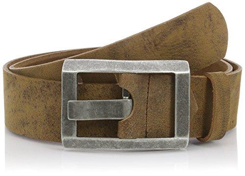 Biotin Jeans Friend herenriem - bruin - 115 cm (Talla del fabricante: 115)