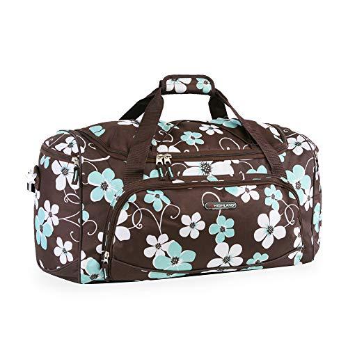 Pacific Coast Women's Signature Medium Travel Duffel Bag, Hawaiian Blue 2, One Size