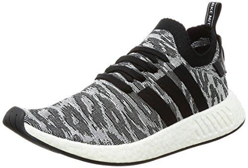 adidas Herren Nmd_r2 Pk Turnschuhe, Mehrfarbig (Core Black/Core Black/Ftwr White), 42 2/3 EU